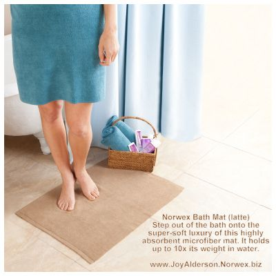 The Norwex Bath Mat Absorbs So Good I Love Mine You Are Able To Get Yours At Www Joyalderson Norwex Biz Norwex Norwex Consultant Bath Mat
