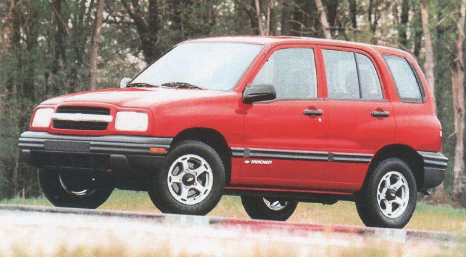 1999 Chevy Tracker Chevrolet Car Chevrolet Chevy
