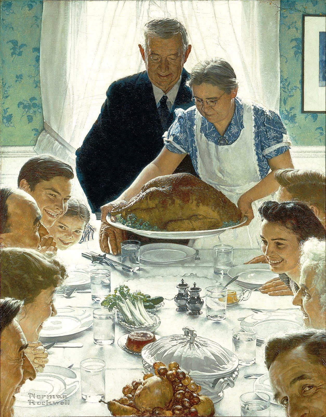 As many people may know Norman Rockwell s classic painting