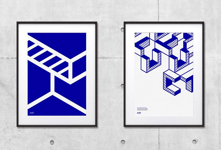 Picture of 2 designed by Ragged Edge for the project CTC. Published on the Visual Journal in date 8 November 2016