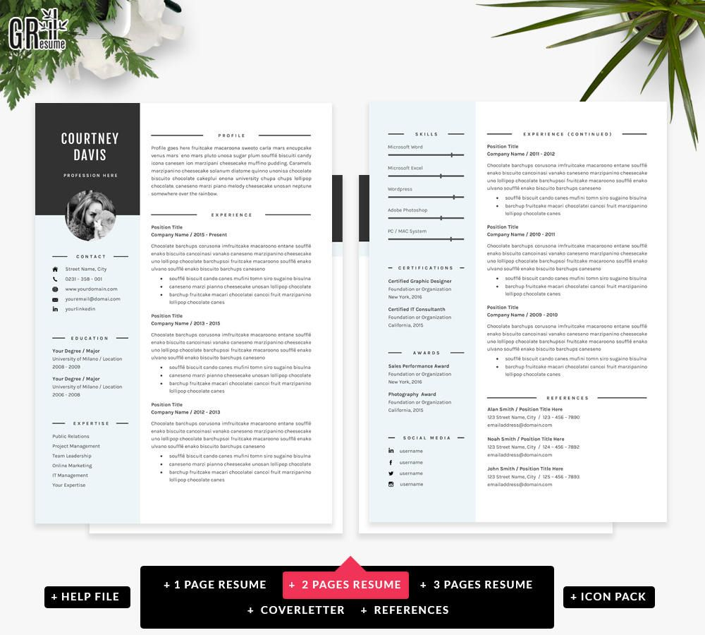 23+ 3 page resume sample ideas in 2021