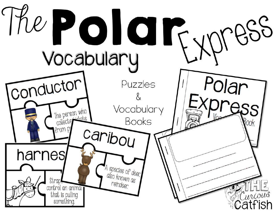 Polar Express Vocabulary Teacherspayteachers