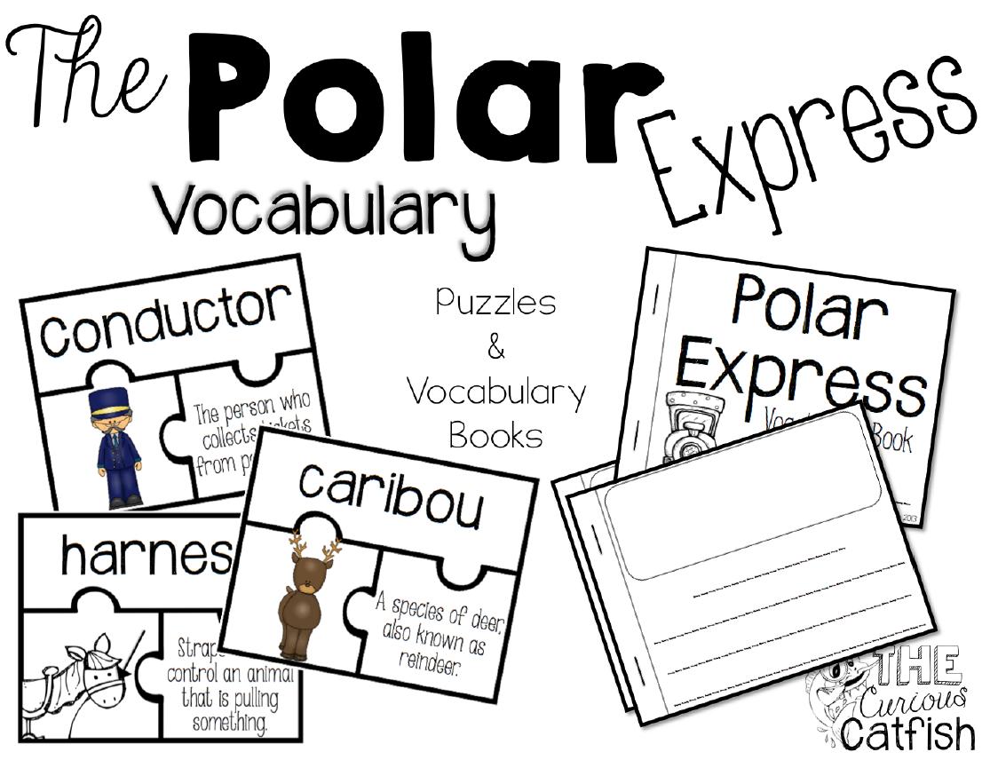 Polar Express Vocabulary Teacherspayteachers