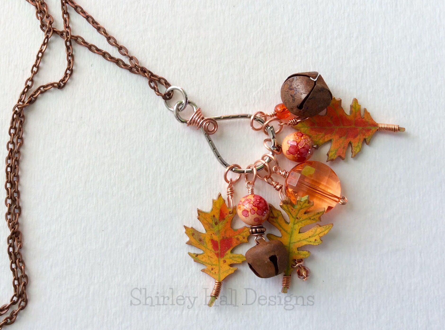 2015 Fall leaves by Shirley Hall