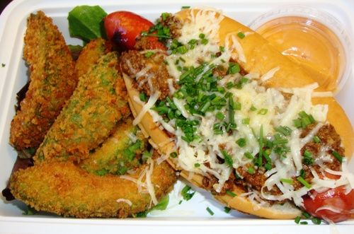 Yeah - It's called Avocado Fries :0) @Snap Truck