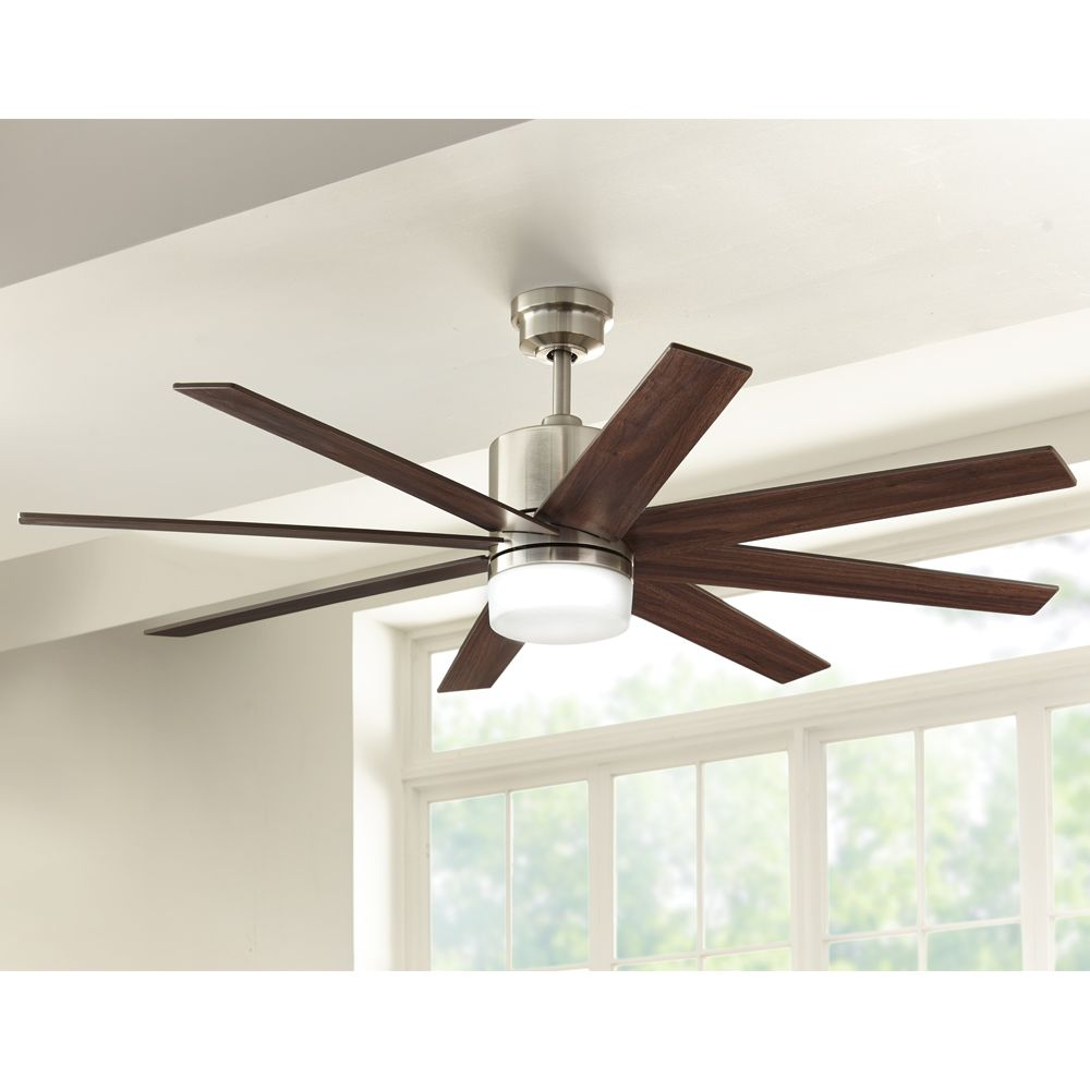 home decorators collection 60 in zolman pike led ceiling fan great room fan - Home Decorators Collection Ceiling Fan