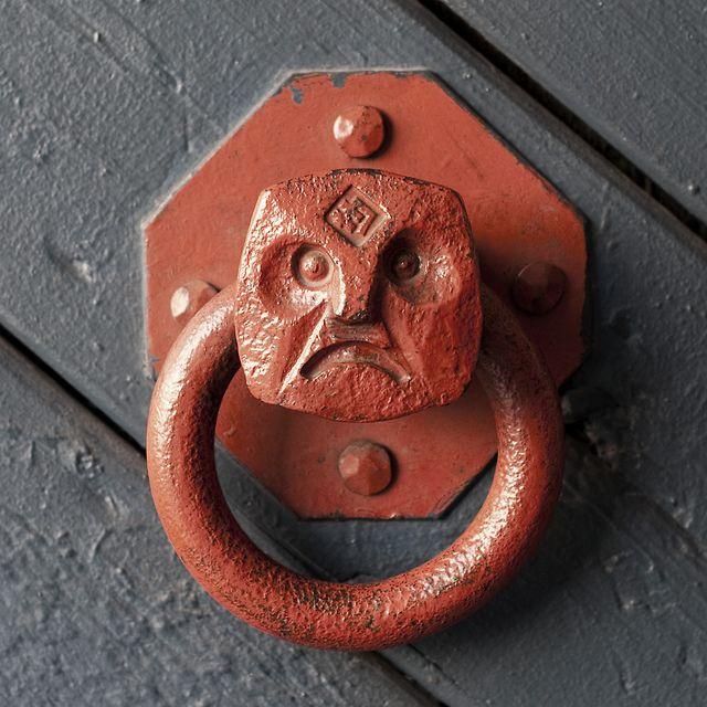 Unhappy knob...