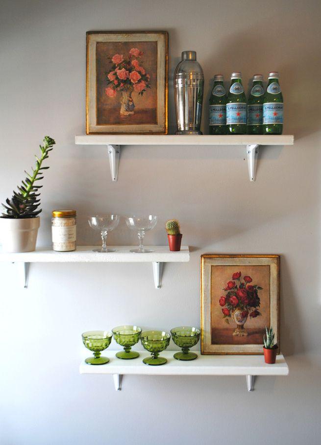 DIY: shelves & styling