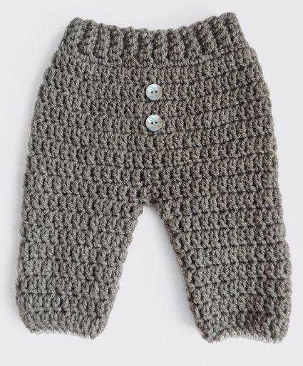 Pantalon Bebe Crochet Crochet Baby Baby Knitting Baby Pants