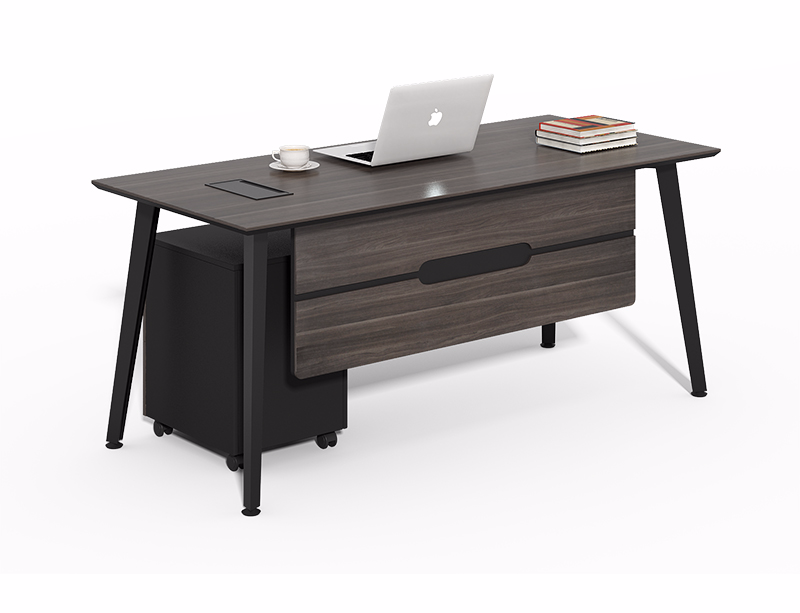 China Office Furniture Factory Price Simple Design Carbon Black Office Table And Chairs Cf Hm1260b Black Office Table Office Desk Desk