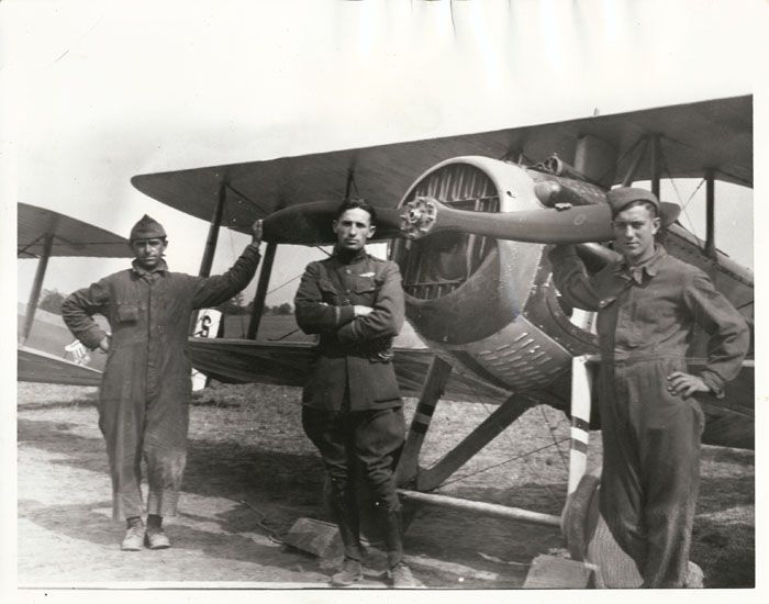 The 94 FS is one of the oldest units in the United States Air Force, first being organized on 20 August 1917 as the 94th Aero Squadron at Kelly Field, Texas. The squadron deployed to France and fought on the Western Front during World War I as a pursuit squadron. It took part in the Champagne-Marne defensive; Aisne-Marne offensive; St. Mihiel offensive, and Meuse-Argonne offensive