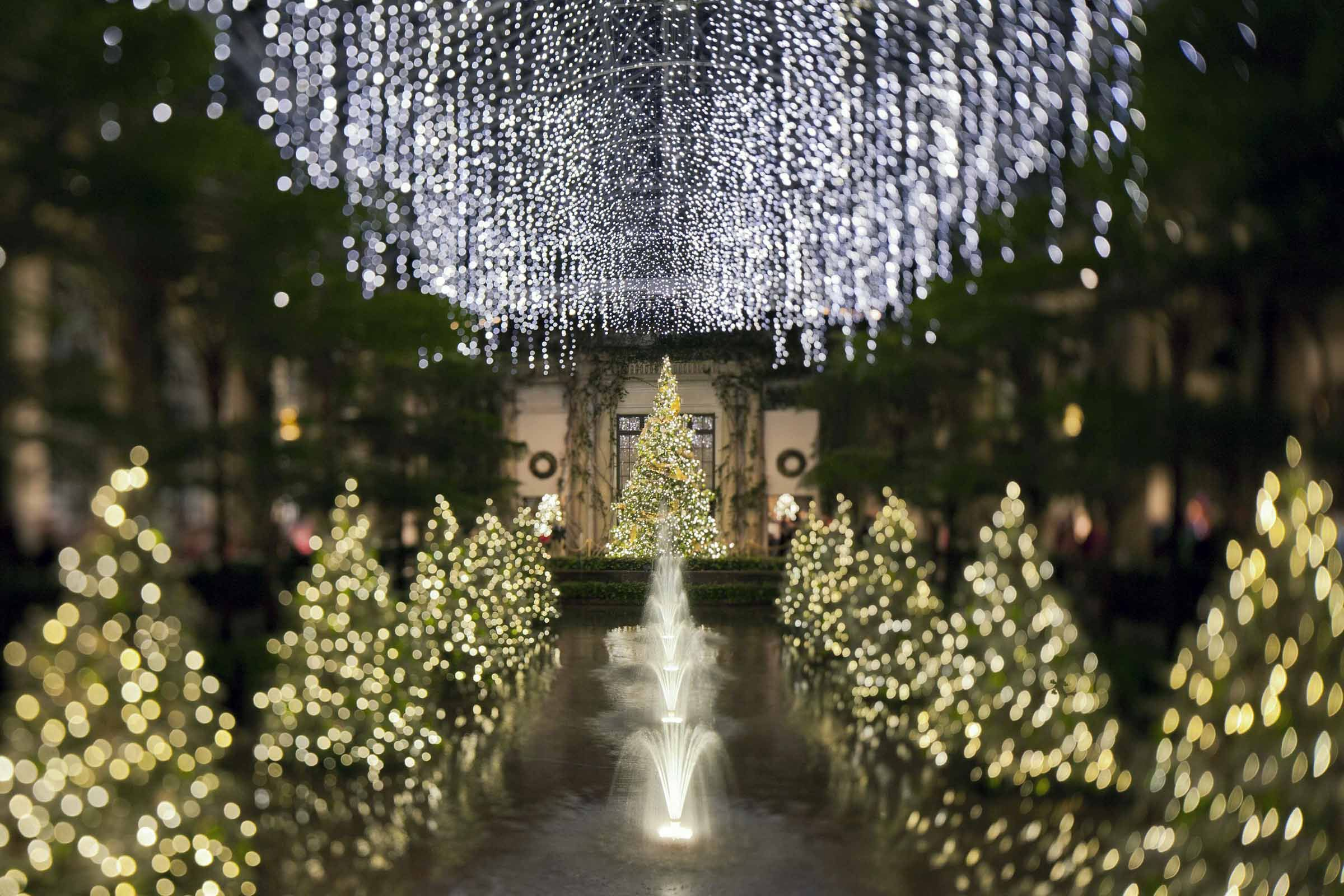 Longwood Gardens Christmas Spectacular with Overnight at Hotel du ...