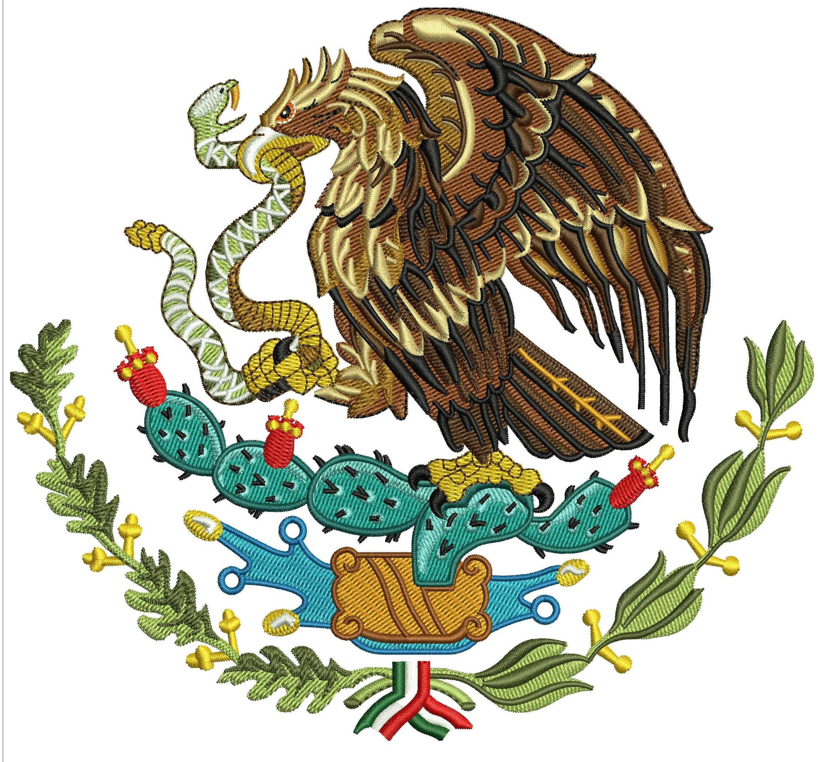 Influential image throughout mexican flag eagle printable