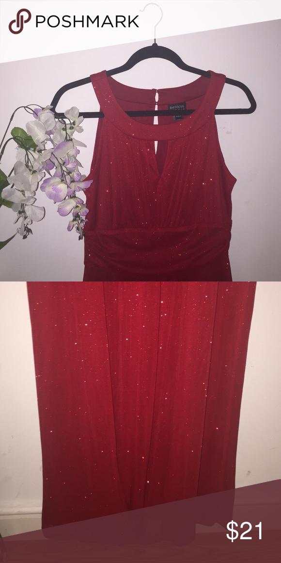 En focus studio long red sparkling dress new dresses wedding also nwt pinterest rh