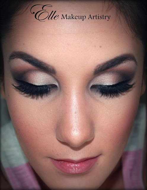 Elle Makeup Artistry Smokey Eyes Airbrushed Face Special Occasion