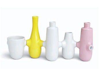 Kähler Fiducia Lys & Vase. Køb dette flotte Kähler gavesæt online hos Jydsk Emblem Fabrik A/S | www.jef.dk