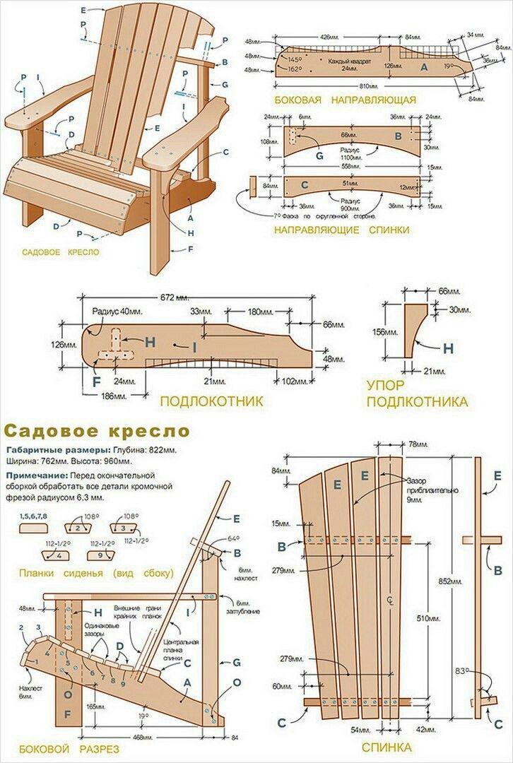 Planos De Sillas Construye Tus Proyectos Con Nuestros Herrajes Y Abrasivos Https Www Ig Fauteuil Bois Mobilier Exterieur En Palettes Meuble Jardin