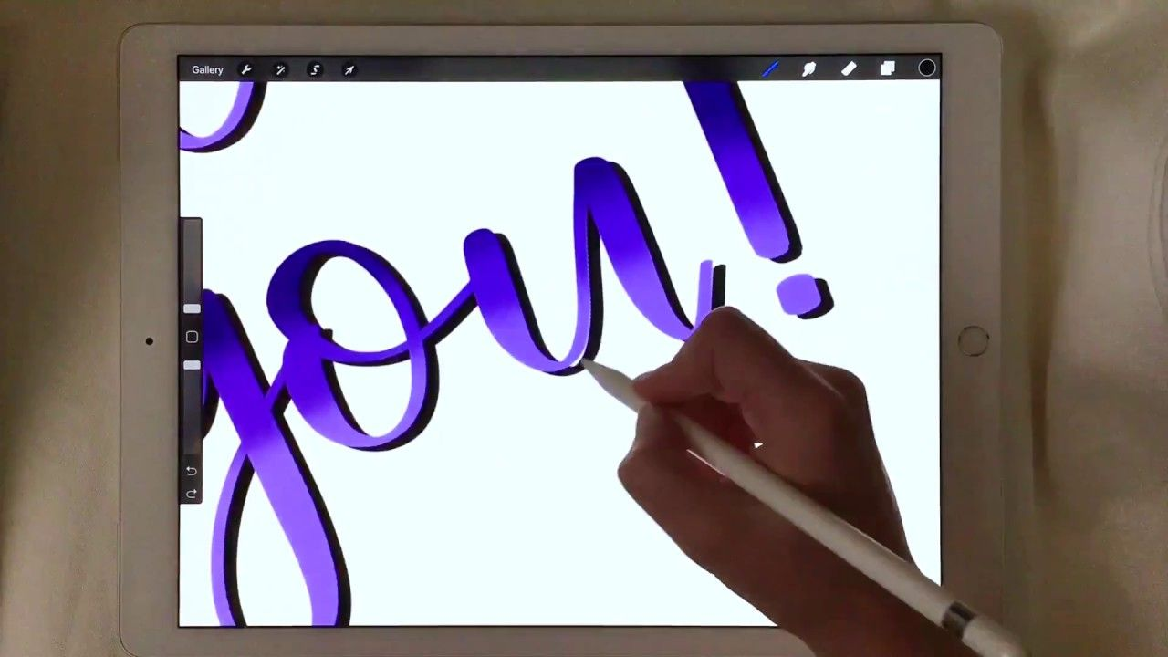 iPad Lettering with the Procreate App Tips and Tricks