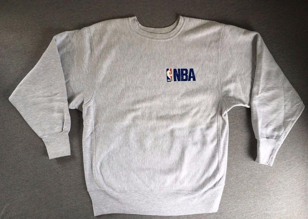 b6ea0ed82e9bc CHAMPION REVERSE WEAVE Sweatshirt 90s NBA Vtg Basketball Men's XL ...