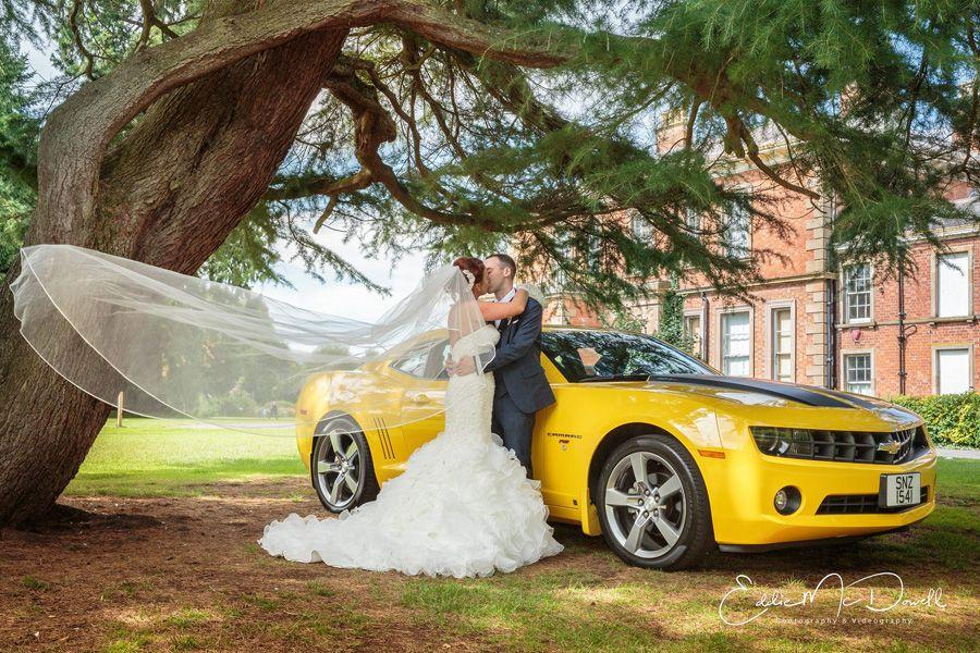 Quirky Bumblebee Yellow Wedding Car Hire Ni Car Hire Wedding Car Wedding Car Hire
