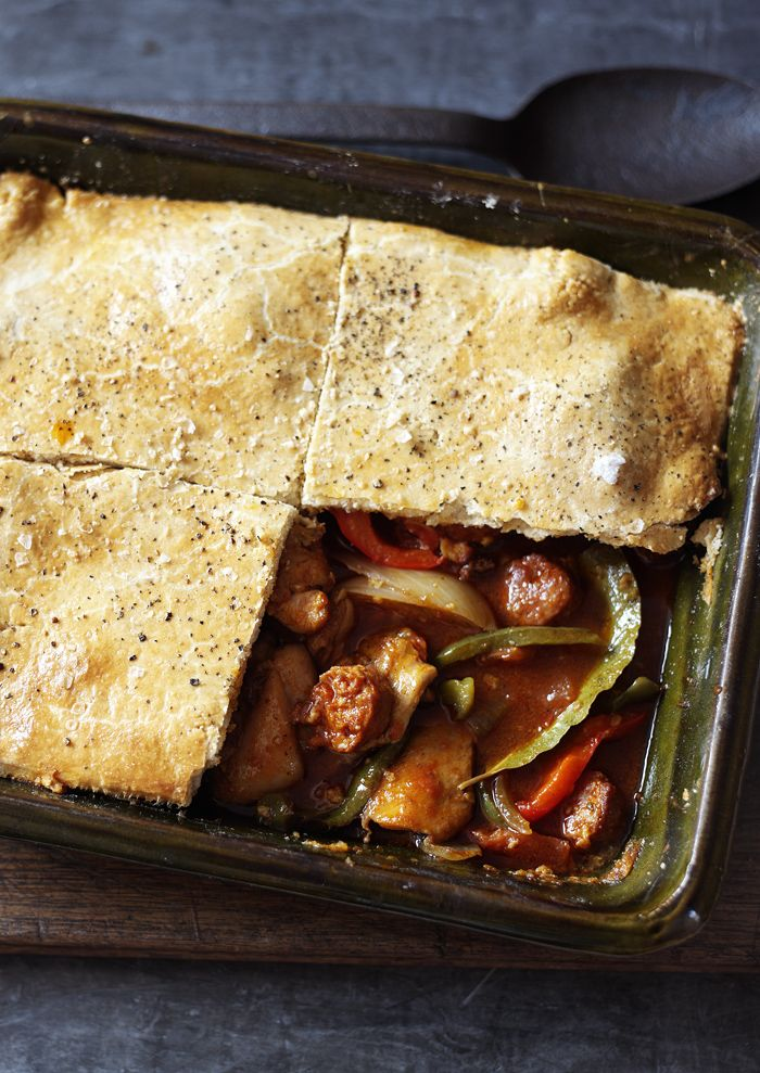 Basque chicken pie recipe crusts pies and food forumfinder Image collections