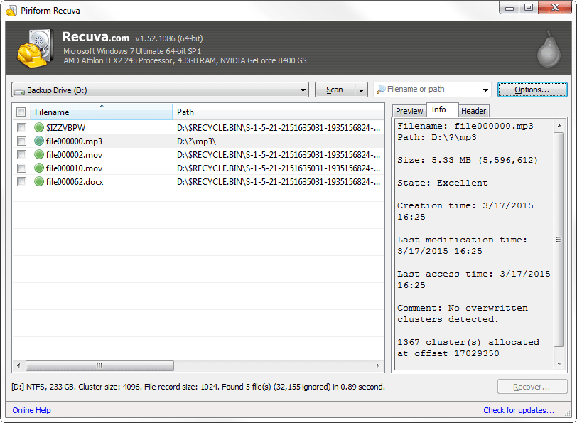 21 Free Data Recovery Software Tools Data recovery tools