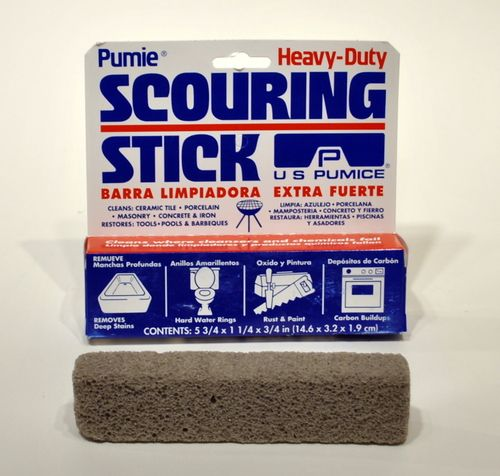 Pumie Heavy Duty Scouring Stick Hacks Toilet Cleaning