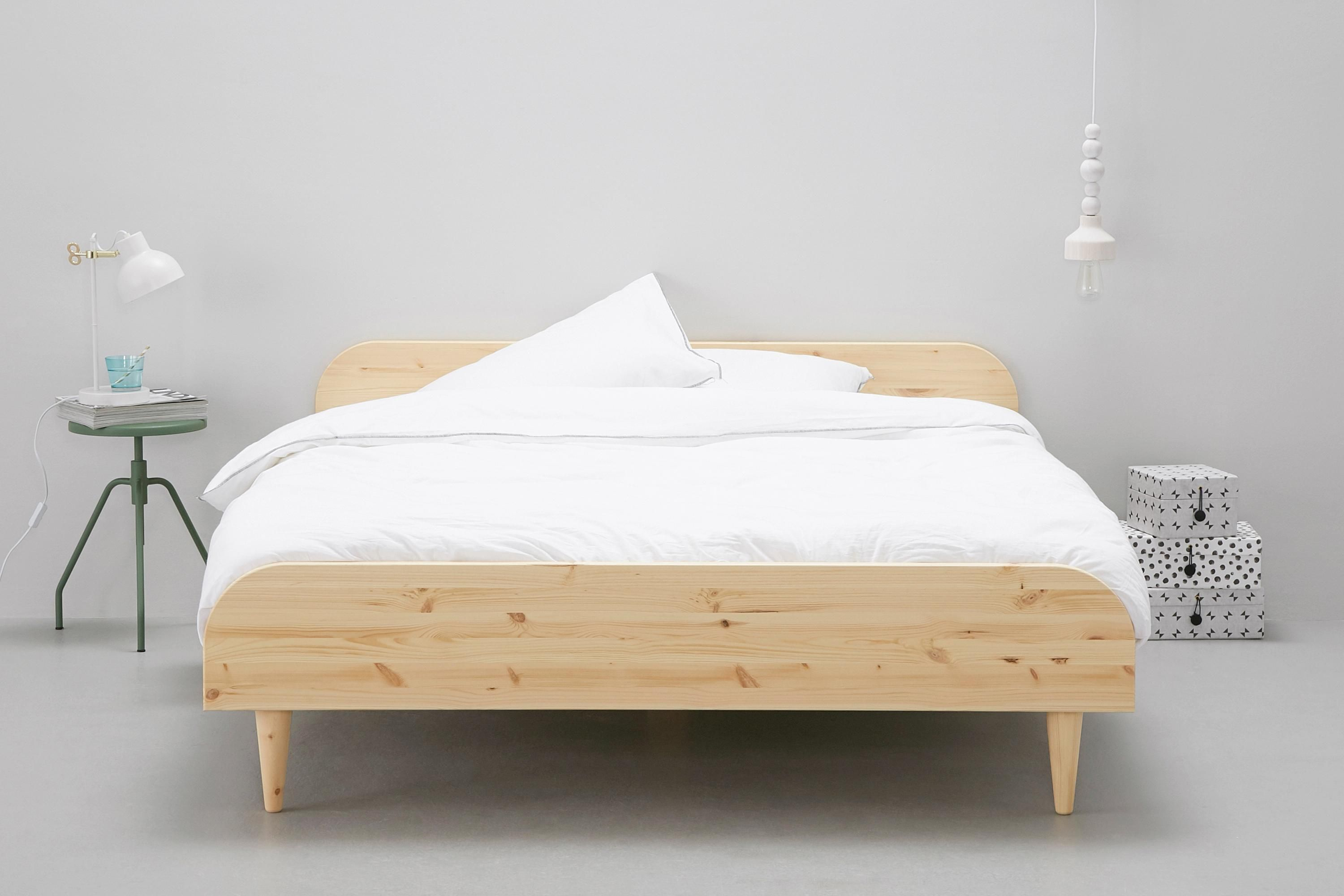 Bed 180x200 Hout.Bed Twist 180x200 Cm Bed In 2019 Bed Furniture Bed