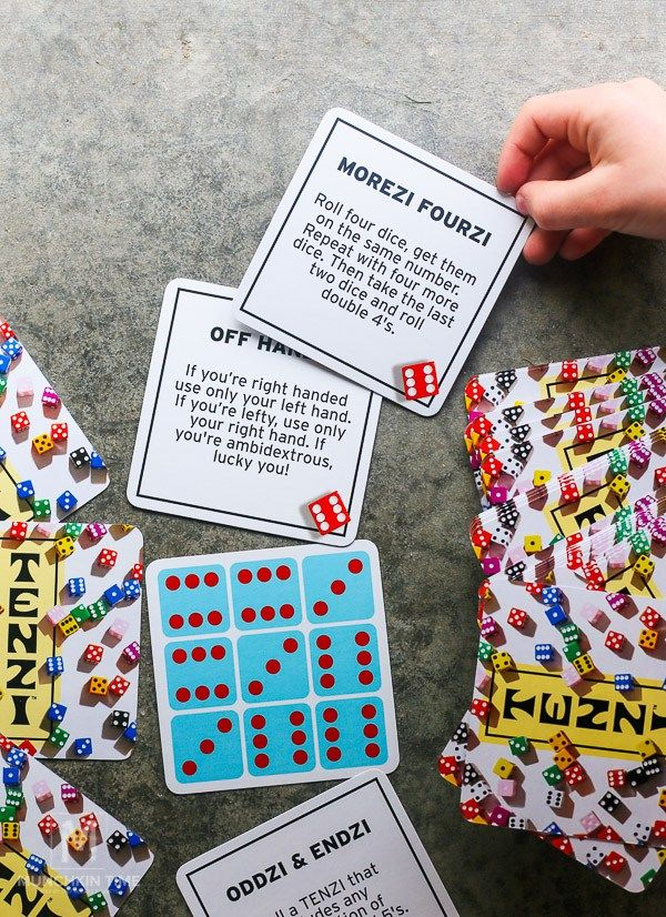 image about Printable Tenzi Cards titled Tenzi - Ridiculously Entertaining Relatives Activity Homeschool Curriculum