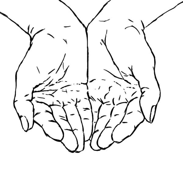 Praying Hands Praying Hands Best Place To Color Praying Hands How To Draw Hands Coloring Pages