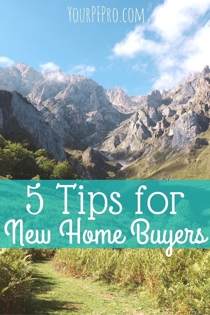 5 Tips For New Home Buyers. Home Buying TipsInvesting MoneySaving ...