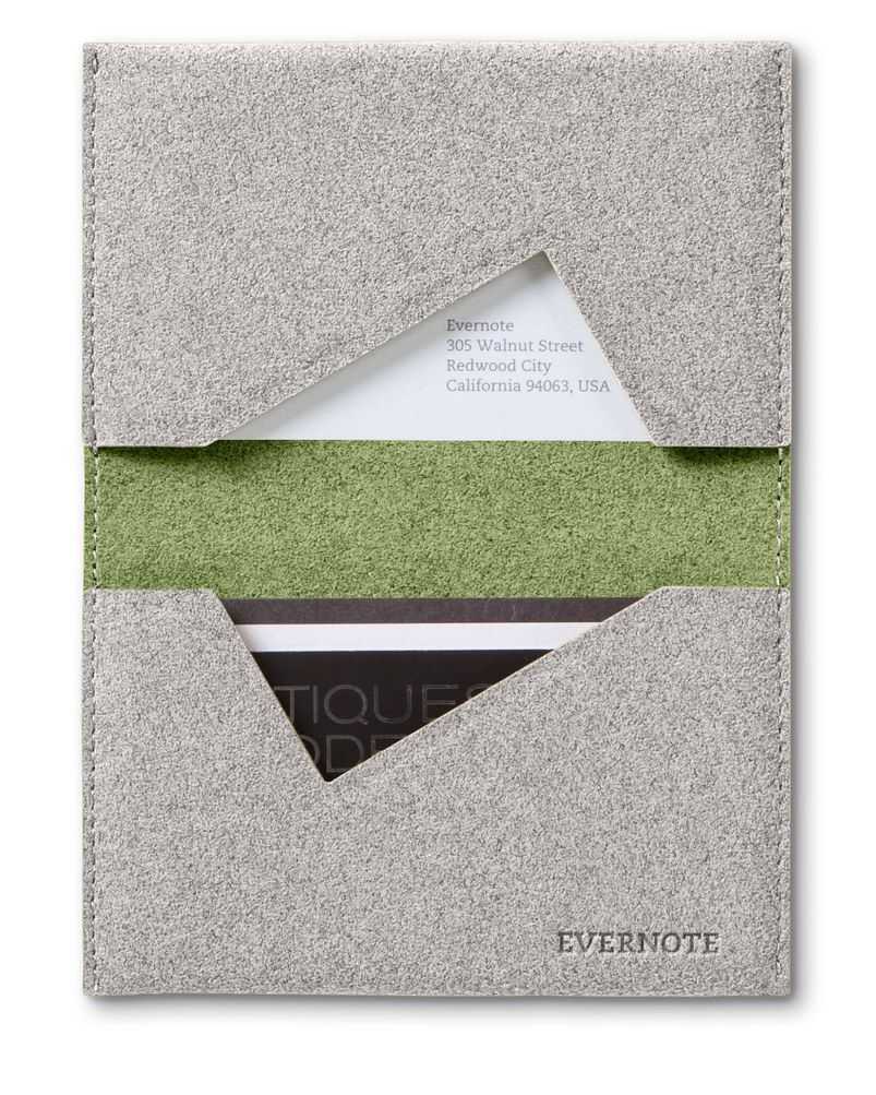 Evernote business card holder | Gifts | Pinterest