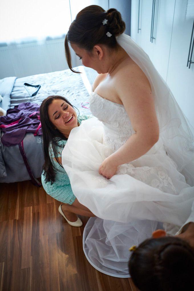 Verliebt, Verlobt und nun verheiratet - Das Getting Ready