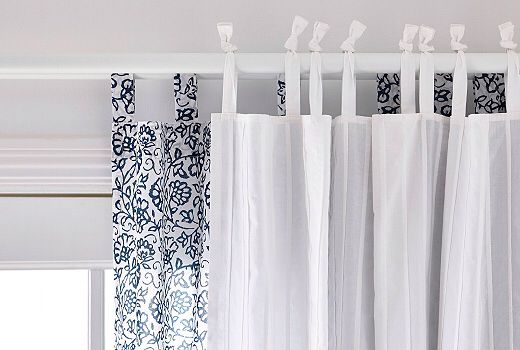 Mjolkort And Parlblad Curtains From Ikea For Living Room
