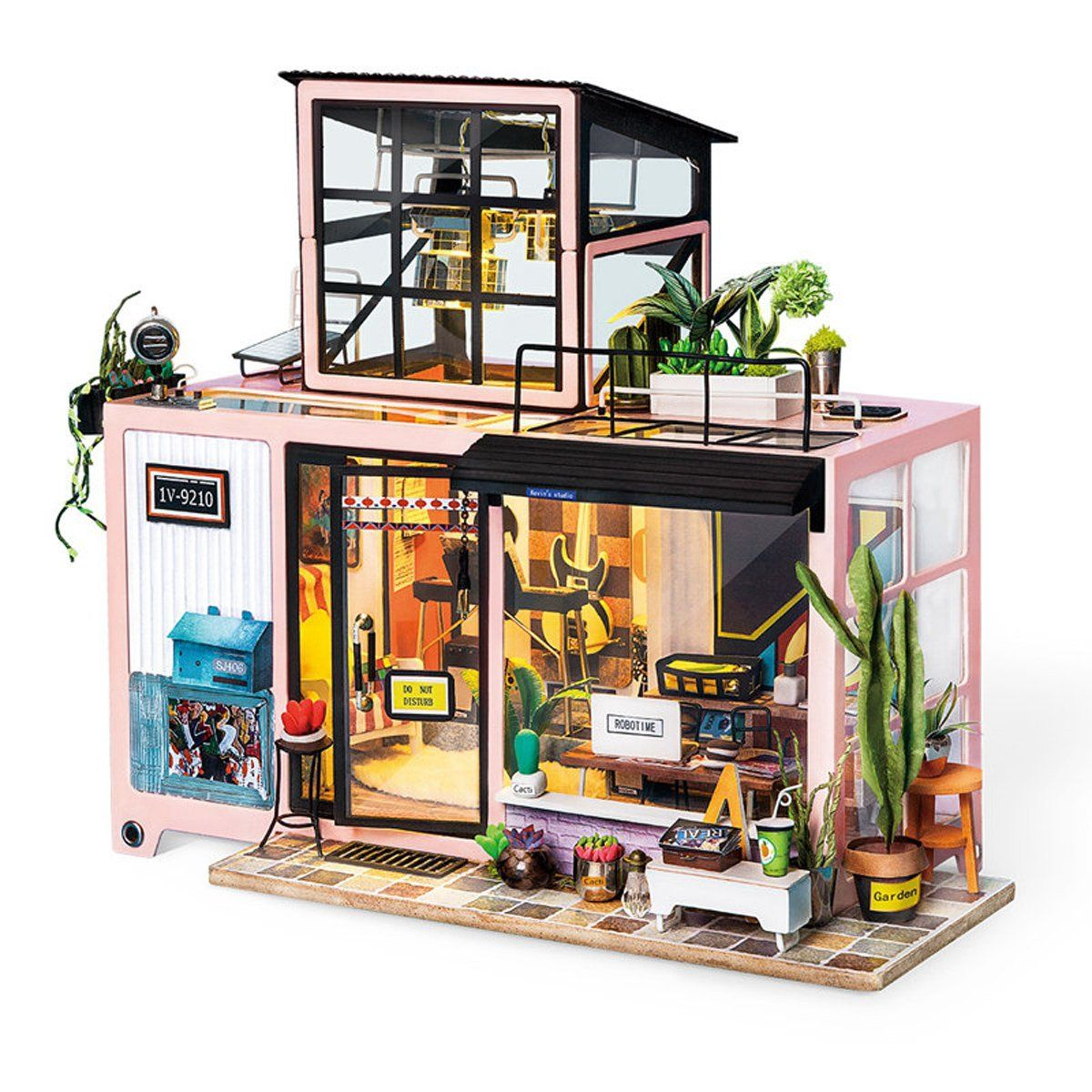 Rolife Diy Wooden Dollhouse Kits With Furnitures Lilys