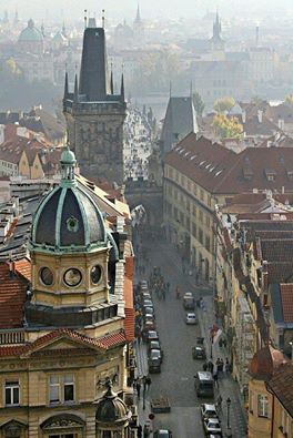 Let's take a walk in Prague, Czech Republic...