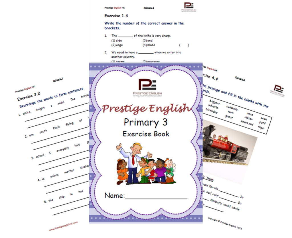English Exercise Book – Primary 3 (ages 7/8 and up) | English ...