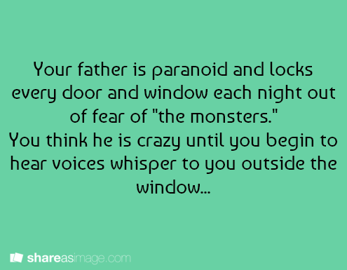 Writing Prompt: Voices Outside