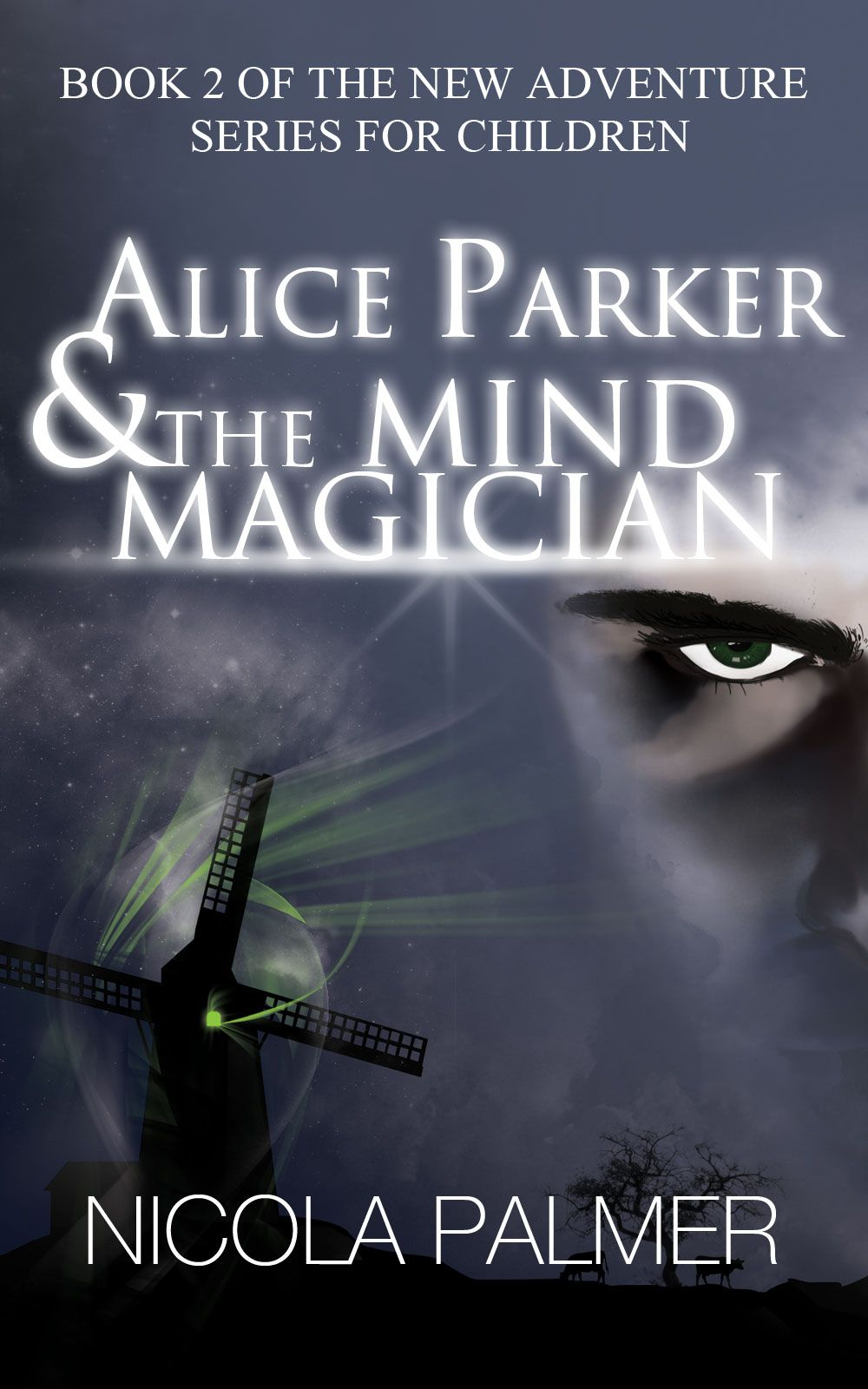 Cover for alice parker the mind magician the magicians