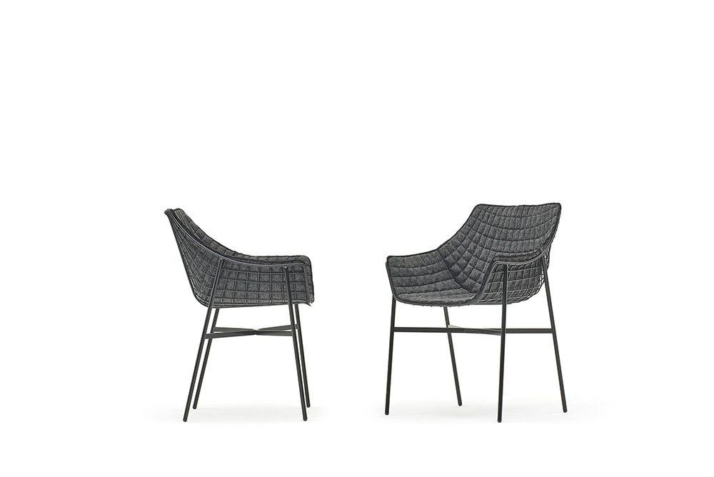 Summerset Steel Outdoor Chair