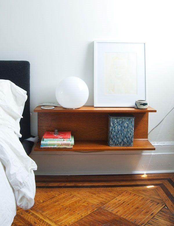 Wall Mounted Nightstand Bedside Table