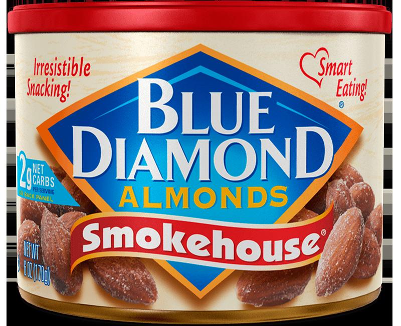 Smokehouse® Blue diamond almonds, Flavors, Almond