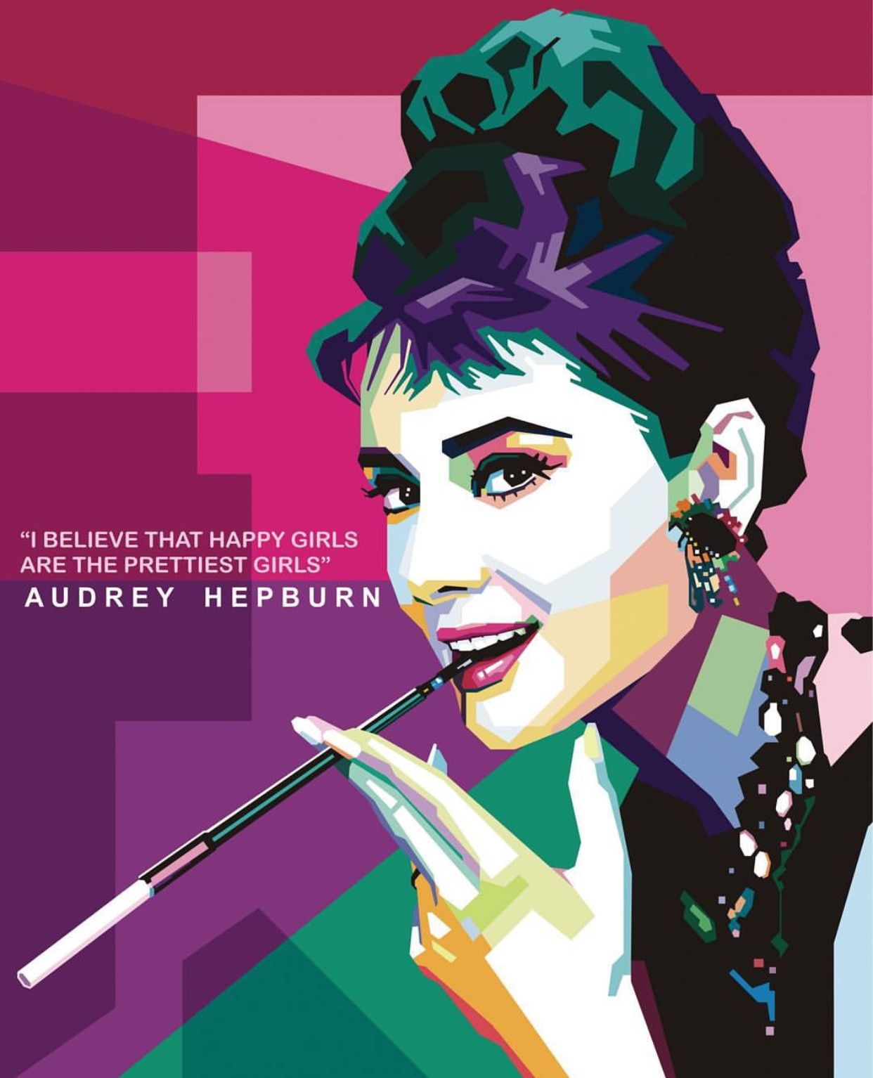 Pin by David Hayes on Audrey Art | Pinterest | Audrey hepburn, Pop ...