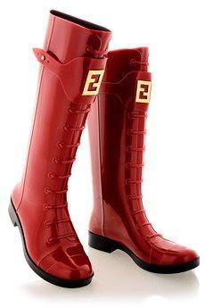 Fendi Stivale Rain boots