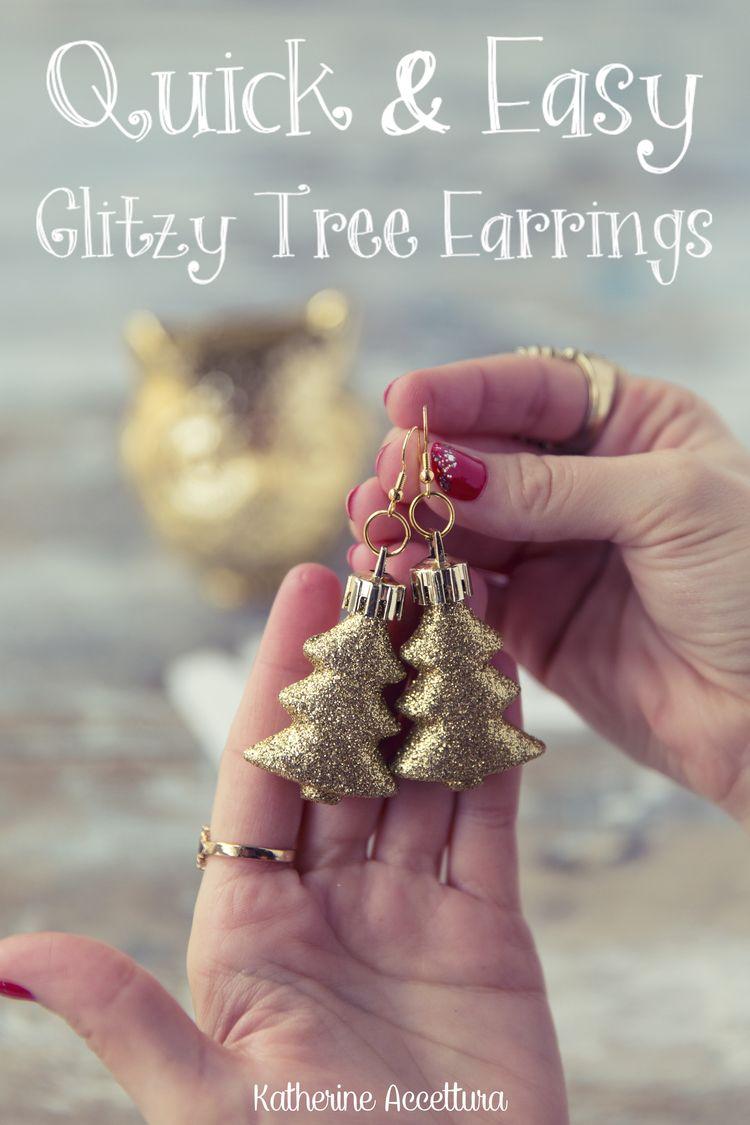 Quick easy glitzy tree earrings diy tutorial christmas quick easy glitzy tree earrings diy tutorial diy christmas giftschristmas solutioingenieria Choice Image