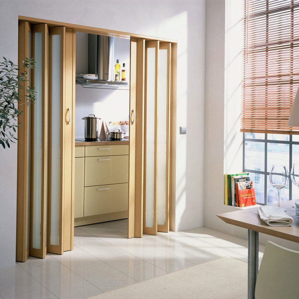 Space Saving Interior Doors Ideas Escaleras Para Casas Pequenas Puertas Plegadizas Decoracion De Interiores