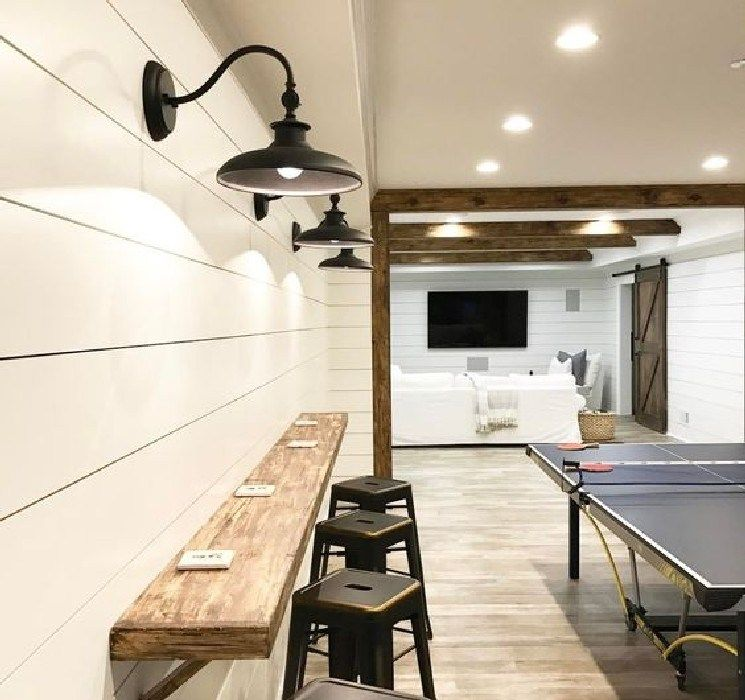 15 Best Basement Rec Room Ideas For A More Relaxing Living Area Basement Remodeling Basement Makeover Basement Lighting