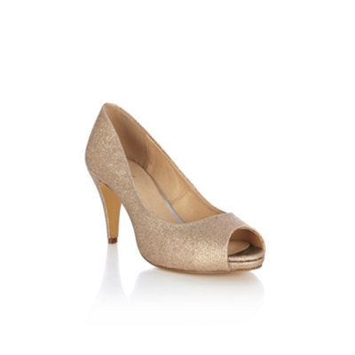 e17cd97312c0 Gold oasis shoes, nice medium heel | shoes and dresses | Shoes ...