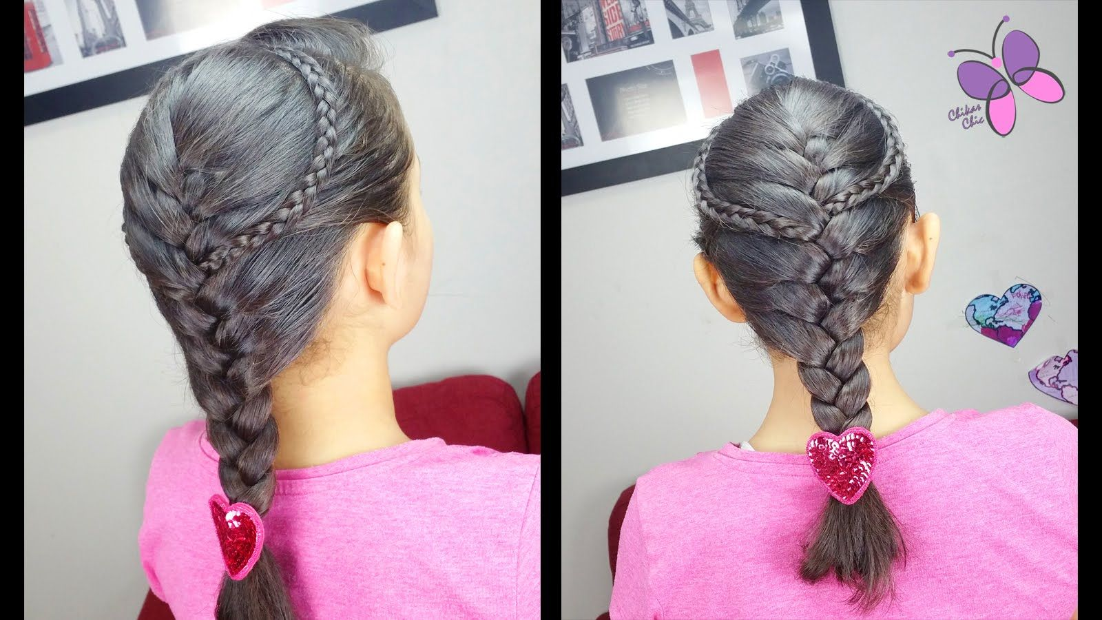 Accented french braid classic braids easy hairstyles braided