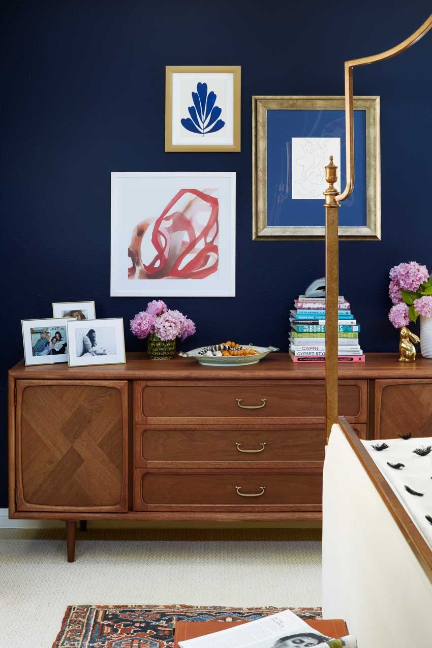 Ordinaire Master Bedroom Credenza Vignette In This Bel Air Home On Design*Sponge